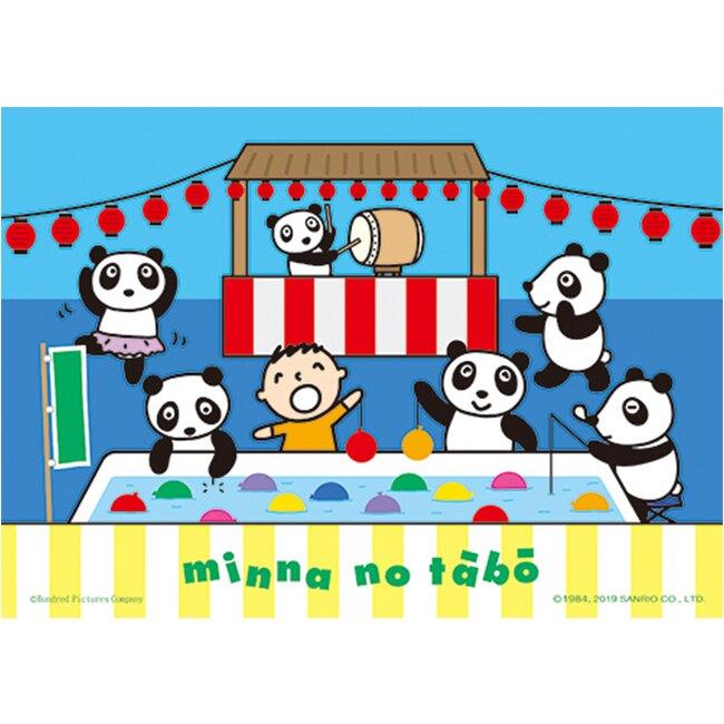 【P2 拼圖】三麗鷗 MINNANOTABO-夜市釣球球(108pcs)(25.7x18.2) HP0108-153