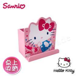 Hello Kitty 凱蒂貓 造型筆筒 手機架 桌上收納 文具收納(正版授權)