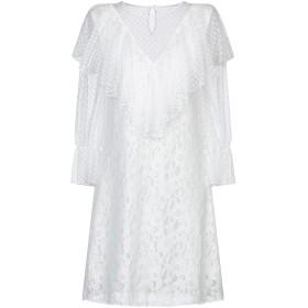 《セール開催中》SEE BY CHLO レディース ミニワンピース&ドレス ホワイト 36 コットン 67% / ナイロン 33%