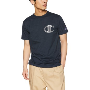 [チャンピオン] Tシャツ C3-P353 メンズ ネイビー 日本 M (日本サイズM相当)