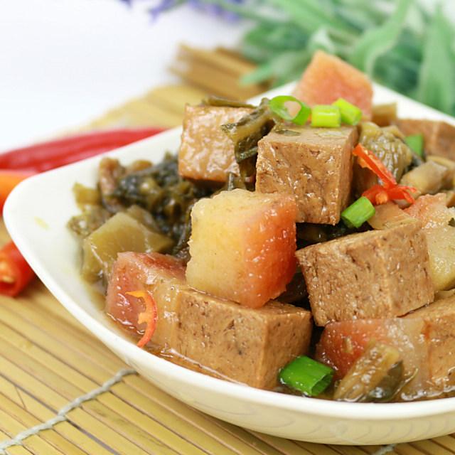 年菜預購【高興宴】素人上菜-長壽鴻福梅干扣肉500g(蛋奶素)-適合5-7人)