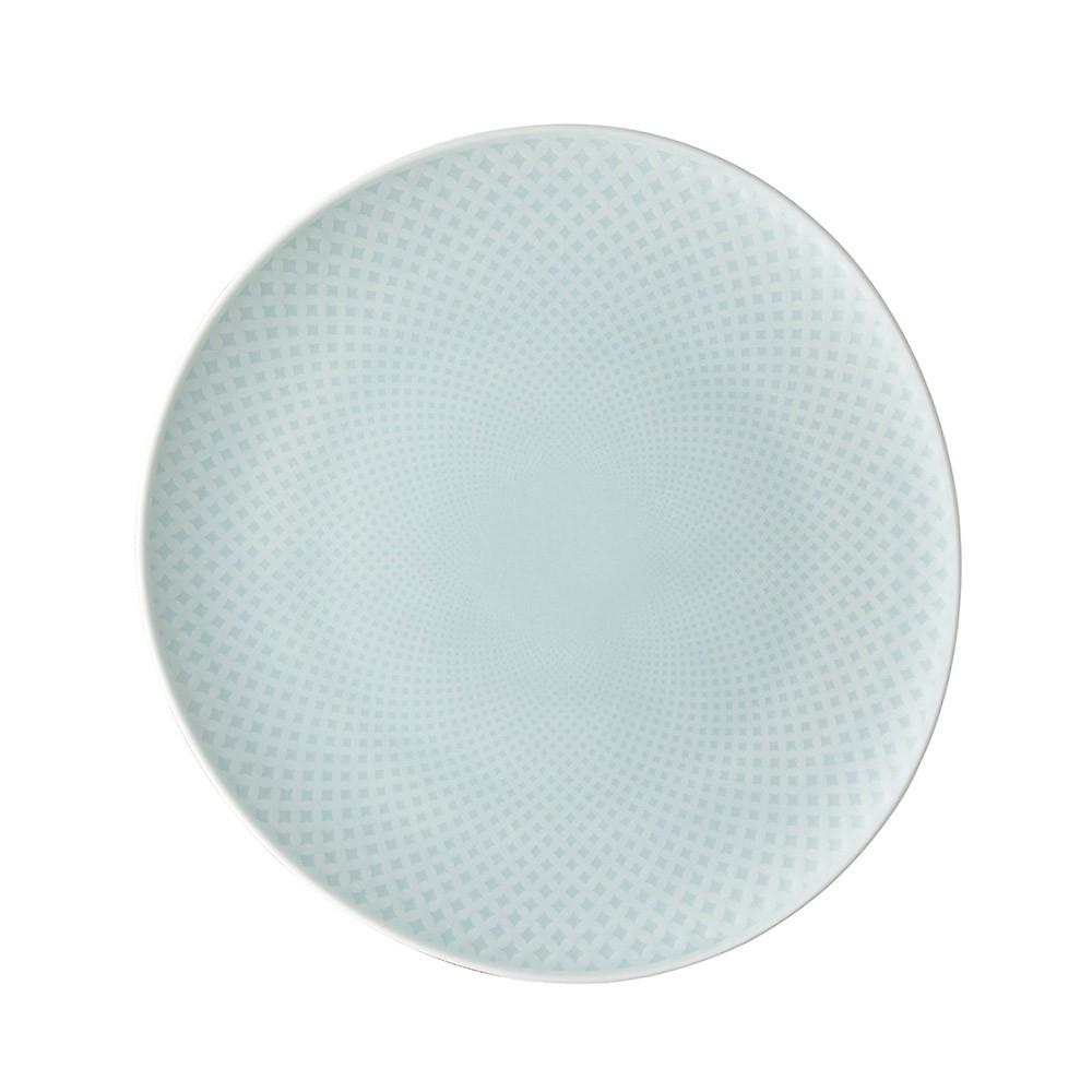 【德國 Rosenthal】 Junto 造型圓平盤16cm - 天青《WUZ屋子》