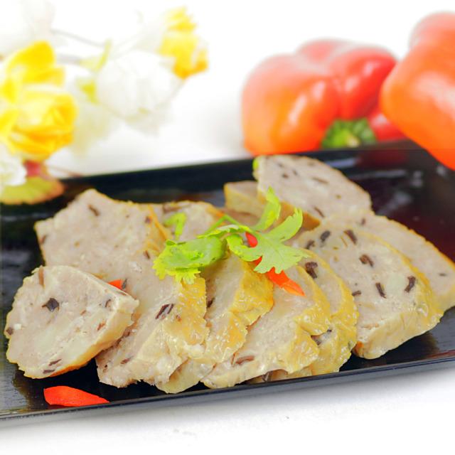 年菜預購【高興宴】素人上菜-養生健康香菇卷300g(蛋奶素)