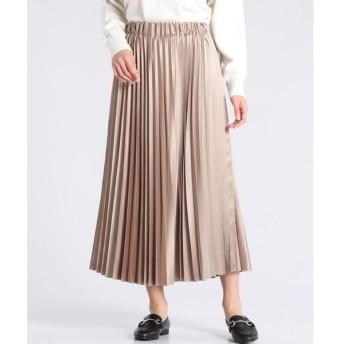 CLEAR IMPRESSION / クリアインプレッション ロングプリーツスカート
