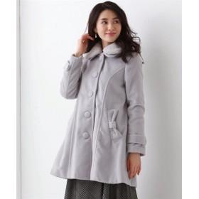 フェイクファー衿ドールコート【JINTY】 (大きいサイズレディース)コート, plus size coat, 大衣