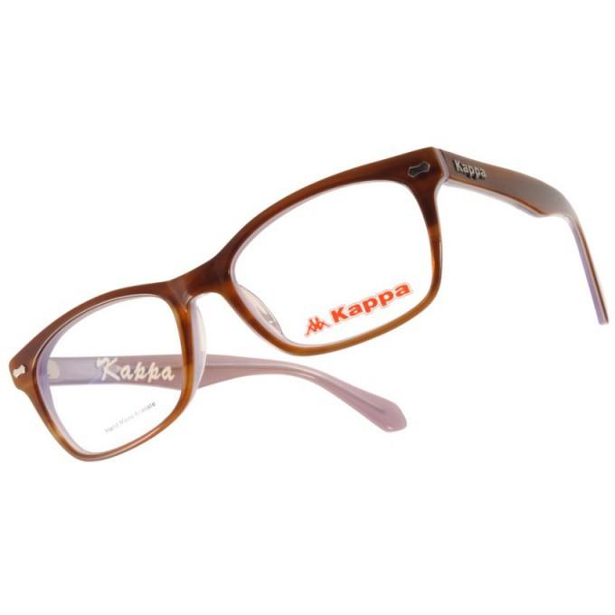 KAPPA 光學眼鏡 KP1035 BW3 經典方框款-金橘眼鏡