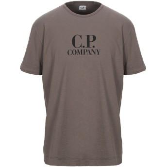《セール開催中》C.P. COMPANY メンズ T シャツ カーキ S コットン 100%