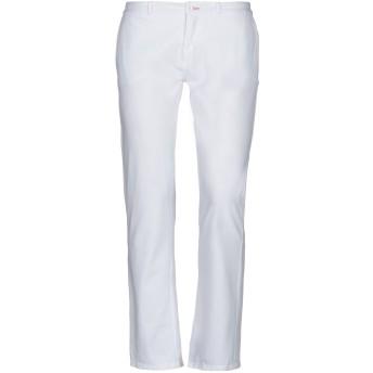 《セール開催中》,MERCI レディース パンツ ホワイト 46 コットン 90% / ポリウレタン 10%