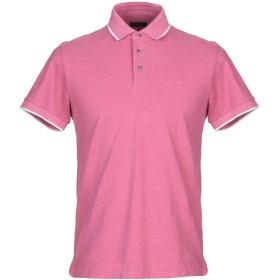 《セール開催中》ZZEGNA メンズ ポロシャツ ライトパープル L コットン 100%