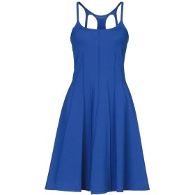 《セール開催中》DSQUARED2 レディース ミニワンピース&ドレス ブルー XS レーヨン 70% / ポリエステル 30%
