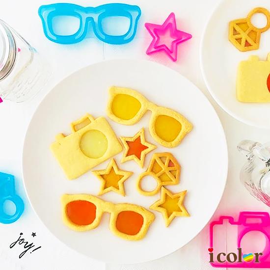 烘焙料理餅乾模型(相機&眼鏡)