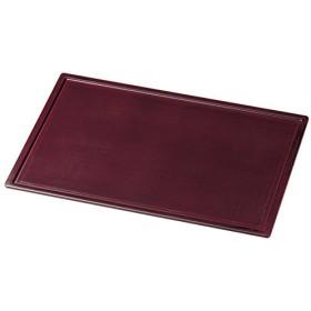越前塗 越前漆器 布張り ランチョンマット 紅溜 サイズ:約43.2×30.3×0.9cm 材質:木製、ウレタン塗