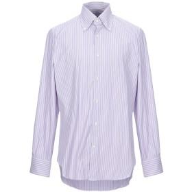 《セール開催中》GIAMPAOLO メンズ シャツ ライラック 42 コットン 77% / ナイロン 18% / ポリウレタン 5%