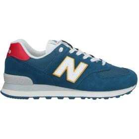 《セール開催中》NEW BALANCE メンズ スニーカー&テニスシューズ(ローカット) ブルー 8.5 革 / 紡績繊維