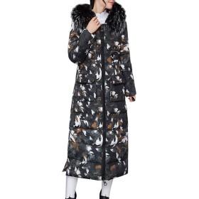 コート女性冬暖かい厚い上着髪襟ジップコートスリム綿パッド入りジャケット生き抜くジャケット長袖 ロング レディースブラウス カーディガン シルエット 膝下 秋冬 保温 防寒 防風 韓国 ショートコートアウター ライトアウター 通勤 学生