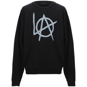 《セール開催中》LOCAL AUTHORITY メンズ スウェットシャツ ブラック L コットン 50% / ポリエステル 50%