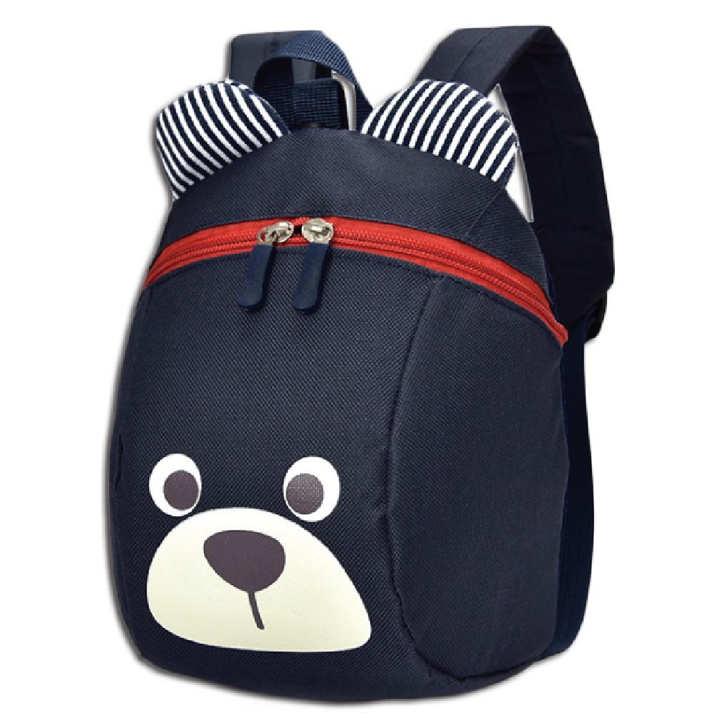 韓版兒童防走失包雙肩包後背包書包1歲5歲幼兒園幼稚園卡通圖案熊背包【B118】
