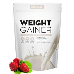 【丹麥 BODYLAB】高熱量乳清蛋白飲品 1.5kg-草莓奶昔