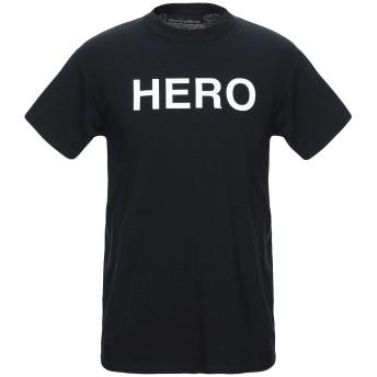《セール開催中》NINE ONE SEVEN メンズ T シャツ ブラック S コットン 100%