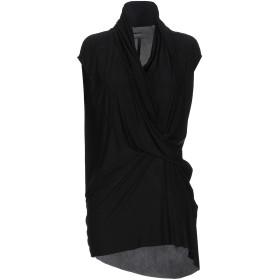 《セール開催中》RICK OWENS LILIES レディース T シャツ ブラック 40 キュプラ 83% / ポリウレタン 17%