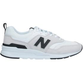 《セール開催中》NEW BALANCE レディース スニーカー&テニスシューズ(ローカット) ホワイト 5.5 革 / 紡績繊維