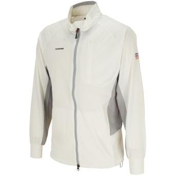 dポイントが貯まる・使える通販| ブリーフィング BRIEFING ウインドジャケット S ホワイト 【dショッピング】 アウター おすすめ価格