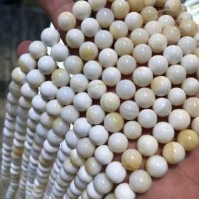 マザーオフパール 8mm 貝殻 ブレスレット2本分