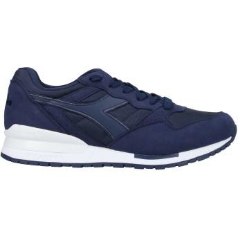 《セール開催中》DIADORA メンズ スニーカー&テニスシューズ(ローカット) ブルー 6 紡績繊維 / 革