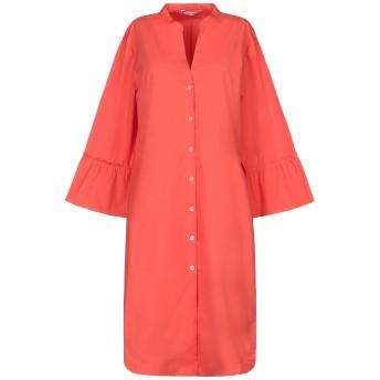 《セール開催中》CALIBAN レディース ミニワンピース&ドレス オレンジ 46 コットン 97% / ポリウレタン 3%