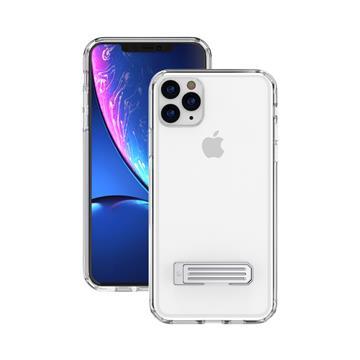 "JTLEGEND iPhone 11 Pro Max 立架雙料保護殼-透明(6.5""立架透明)"