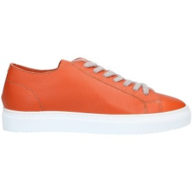 《セール開催中》DOUCAL'S メンズ スニーカー&テニスシューズ(ローカット) オレンジ 40 革