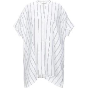 《セール開催中》GUGLIELMINOTTI レディース シャツ ホワイト 40 コットン 80% / シルク 20%