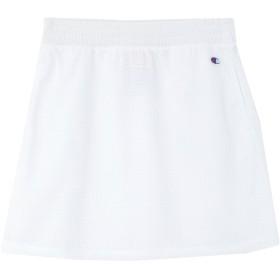 《セール開催中》CHAMPION レディース ミニスカート ホワイト S ポリエステル 100%