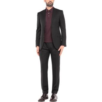 《セール開催中》CORNELIANI メンズ スーツ ブラック 50 バージンウール 100%