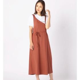 【アンレリッシュ/UNRELISH】 ワンショルジャンパースカート