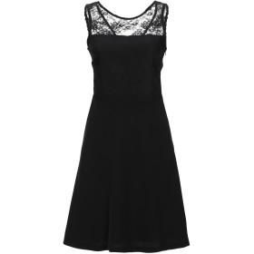 《セール開催中》LADY CHOCOPIE レディース ミニワンピース&ドレス ブラック 40 ポリエステル 100%