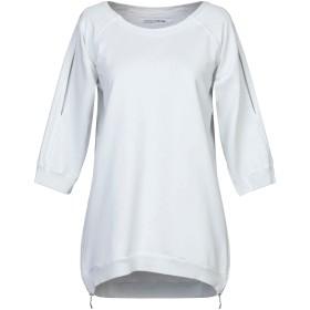 《セール開催中》EUROPEAN CULTURE レディース スウェットシャツ ライトグレー XS コットン 95% / ポリウレタン 5%