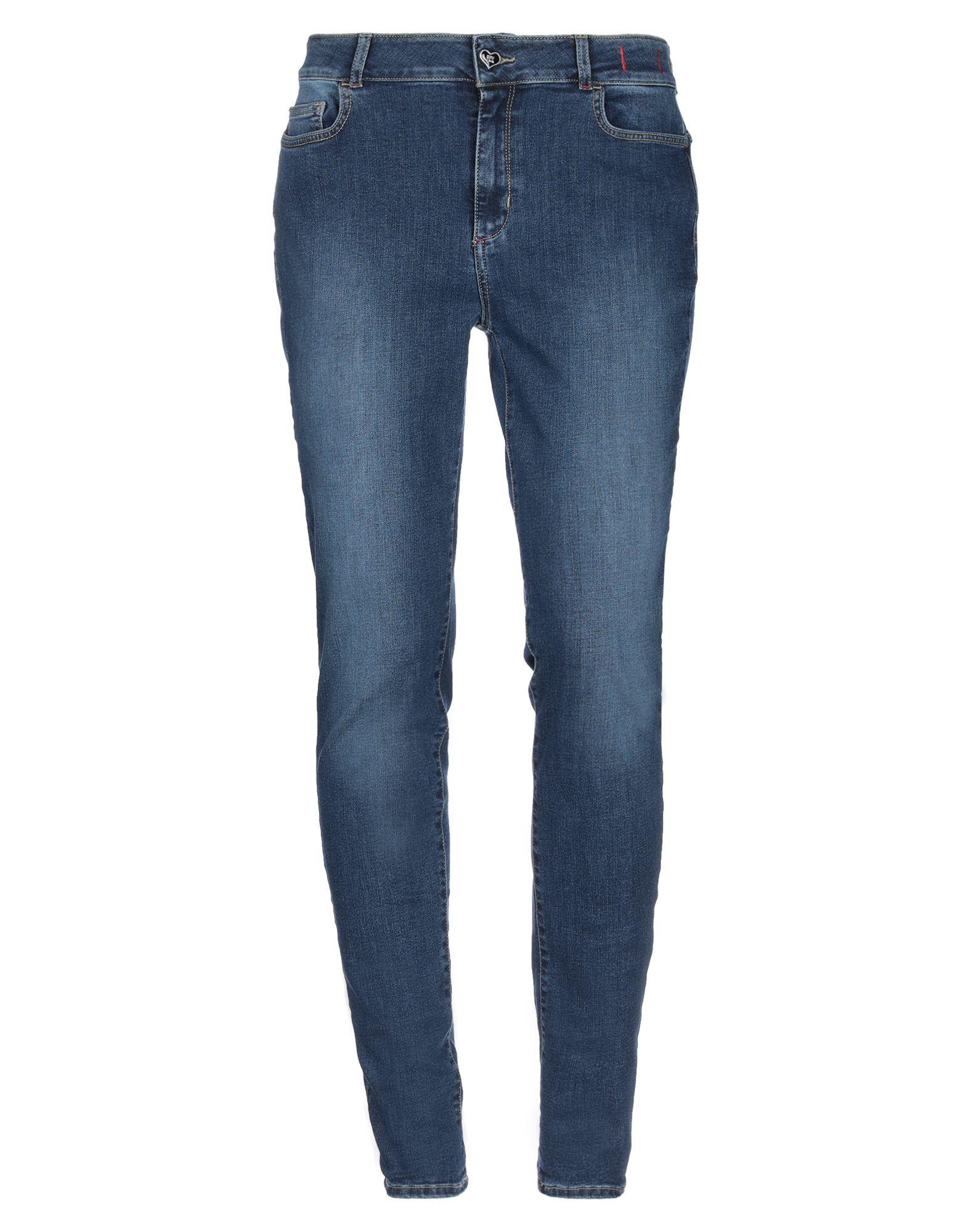 MY TWIN TWINSET Denim pants - Item 42780351