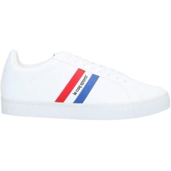 《セール開催中》LE COQ SPORTIF メンズ スニーカー&テニスシューズ(ローカット) ホワイト 41 紡績繊維
