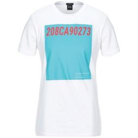 《セール開催中》BOSS HUGO BOSS メンズ T シャツ ホワイト M コットン 100%