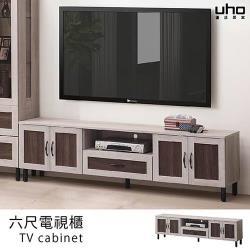 【久澤木柞】簡約美學系列-6尺電視櫃