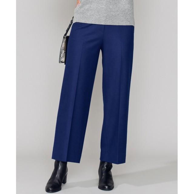【オンワード】 ICB(アイシービー) 【店頭売れ筋】Mild Wool パンツ ブルー 00 レディース 【送料無料】