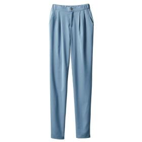 のびる裏微起毛ゆるテーパードパンツ(オトナスマイル) (大きいサイズレディース)パンツ, plus size pants, 子, 子
