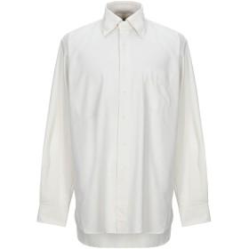 《セール開催中》ORIAN メンズ シャツ ホワイト 44 コットン 100%