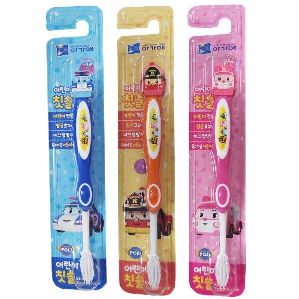 POLI 波力救援小英雄立體兒童牙刷 (4款可選)