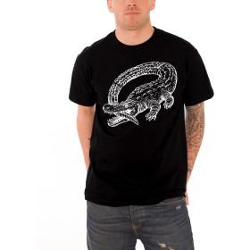Catfish and the Bottlemen T Shirt The Ride Alligator Logo 公式 メンズ ブラック