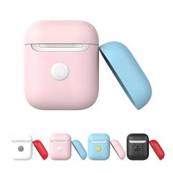 Switcheasy  Colors 耳機套 (For AirPods二代無線專用)-黑色/白色/嬰兒粉/嬰兒藍
