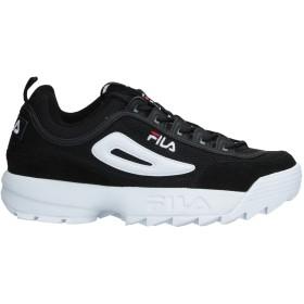 《セール開催中》FILA メンズ スニーカー&テニスシューズ(ローカット) ブラック 10 紡績繊維