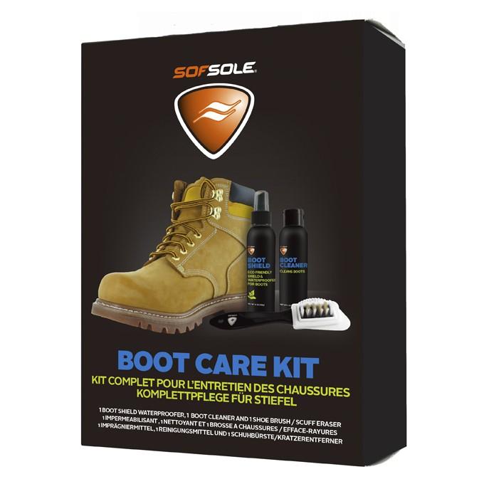 【SOFSOLE】Boot Care Kit 皮革靴專用清潔保養組