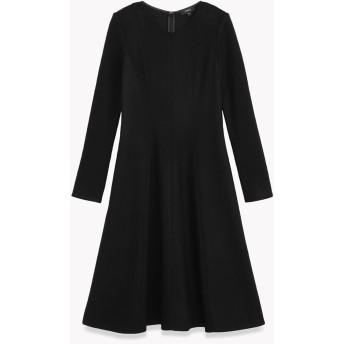【Theory】Refined Wool Jersey Jersey Seamed Dress
